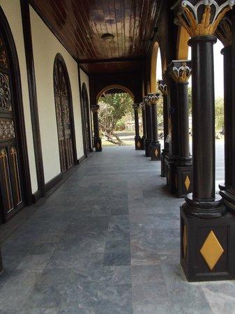 Wooden Church: hall