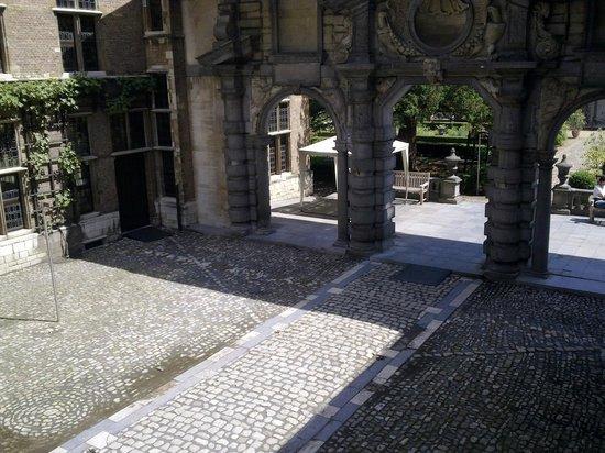 Rubens House (Rubenshuis) : двор