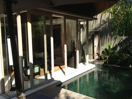 Renaissance Phuket Resort & Spa: View of the room from the private pool area