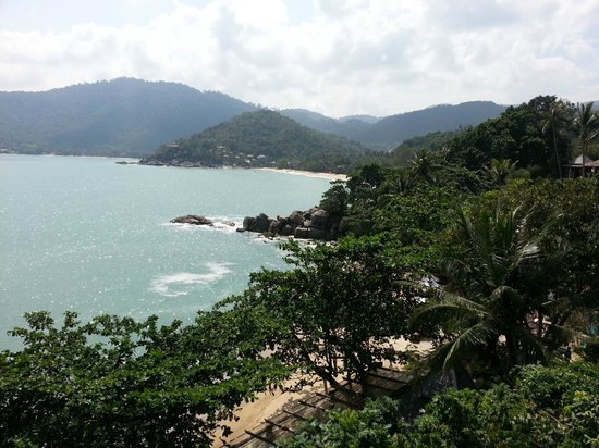 Santhiya Koh Phangan Resort & Spa : vue