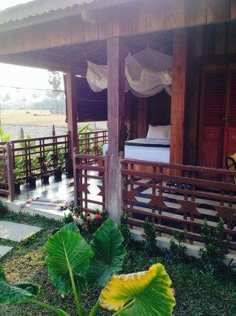 Angkor Rural Boutique Resort: outdoor bed