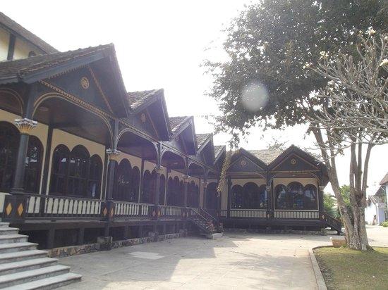 Wooden Church: at the backyard