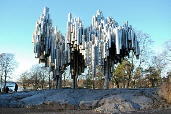 The Sibelius Monument: памятник Яну Сибелиусу