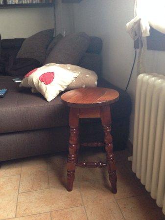 Casa Grillo: Panchetto Magico regalato dal Grillo ora in casa mia!!! Grazie Jorge!!!!