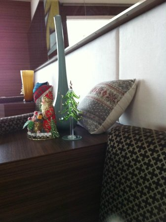 Hotel Century Southern Tower : レストランの飾り