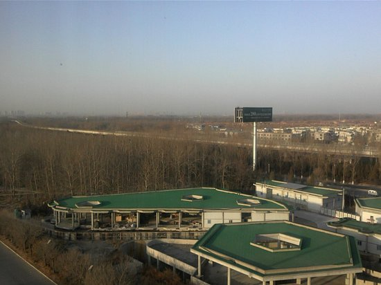 Crowne Plaza Beijing International Airport : Not exactly a lovely view!