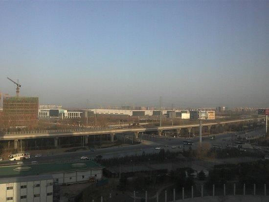 Crowne Plaza Beijing International Airport: Not exactly a lovely view!