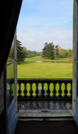Chateau de Marechal de Saxe : Vue sur le parc