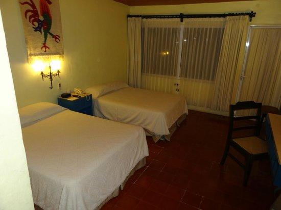 Hotel Chichen Itza: Chambre 210
