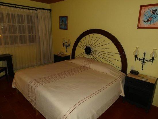 Hotel Chichen Itza: Chambre 217