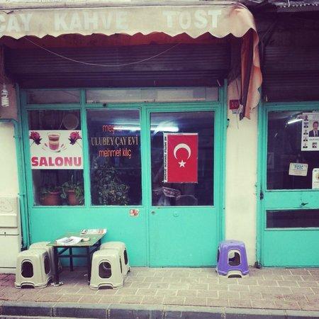 tea shop in balat