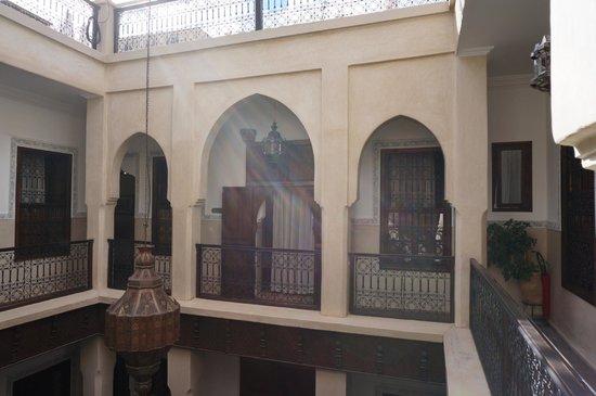 Riad le Clos des Arts: Upper floor