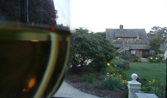 MacCallum House Restaurant : vue du jardin