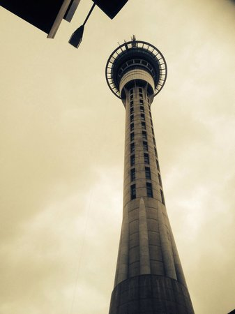 SkyJump and SkyWalk: The sky tower itself :):):)