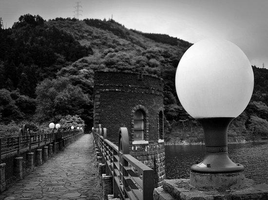 Kawachi Reservoir : In B&W