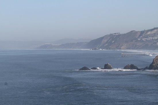 Holiday Inn Express Hotel & Suites Pacifica : ocean view