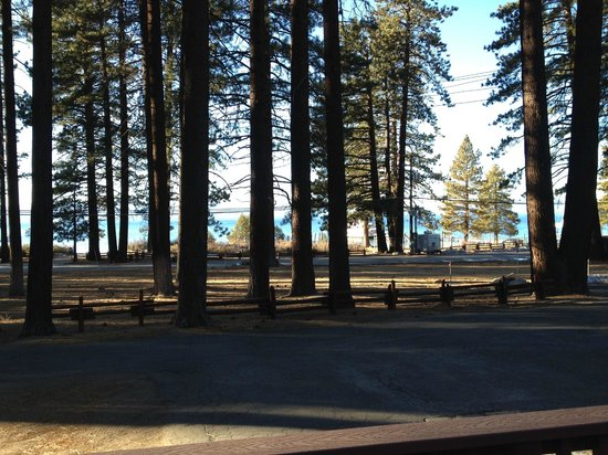 Zephyr Cove Resort: View from the front porch