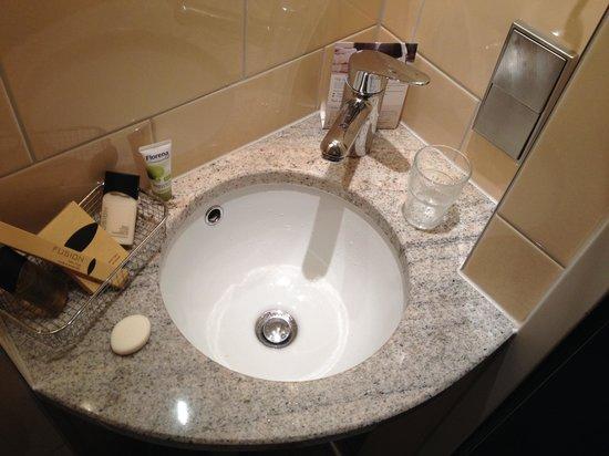 Hotel du Theatre: Auch nicht das Bad. Funktioniert aber alles.