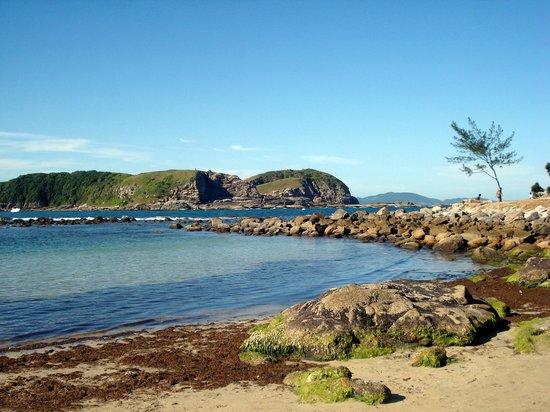 Praia das Conchas: Vista da Praia, caminho das pedras