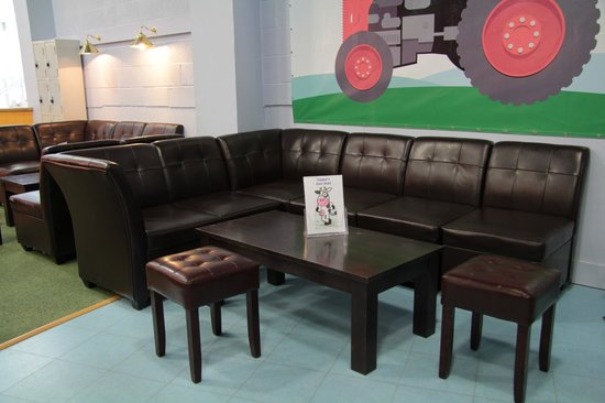 The Play Farm: Party seating area