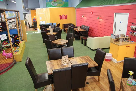 The Play Farm: Seating area