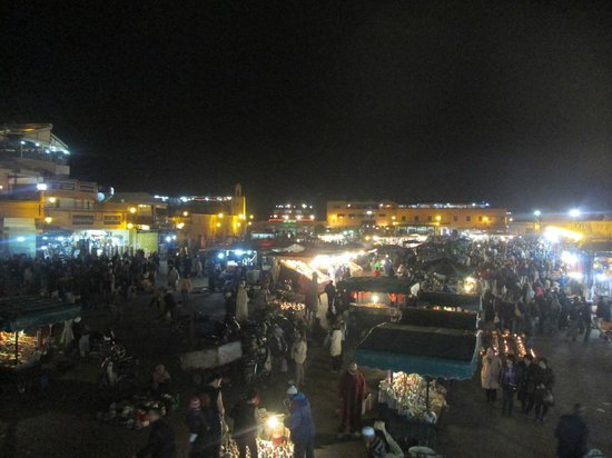 Suq von Marrakesch: night time