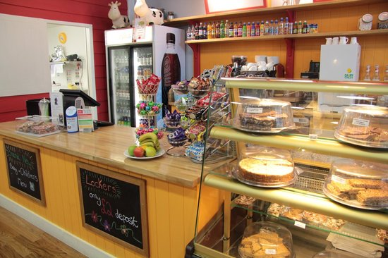 The Play Farm: Fresh italian coffee and deluxe french hot chocolate