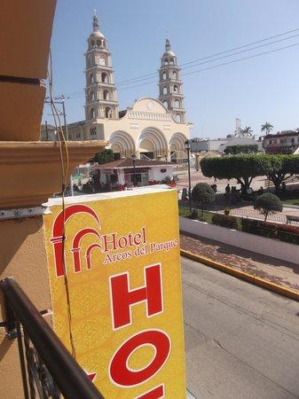 Hotel Arcos del Parque: Photo du 1er février 2014.