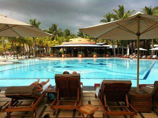 Shandrani Beachcomber Resort & Spa: piscine principale