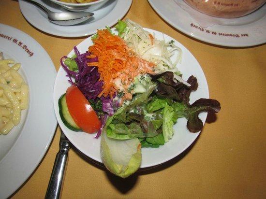 Zum Stiefel: Salad