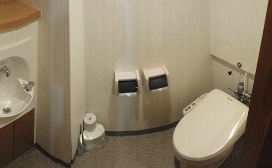 Yuzawa Grand Hotel: Japanese style high-tech toilet, individual room