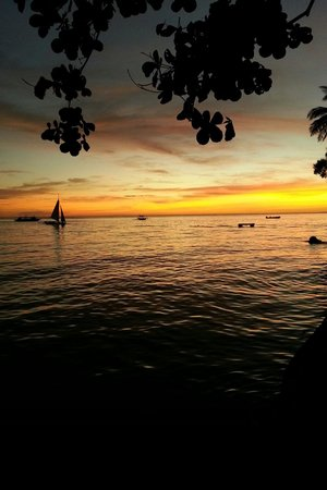 Nami Resort : The beautiful sunset you could ever ask for