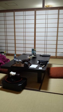 Yuzawa Grand Hotel: The Living Room