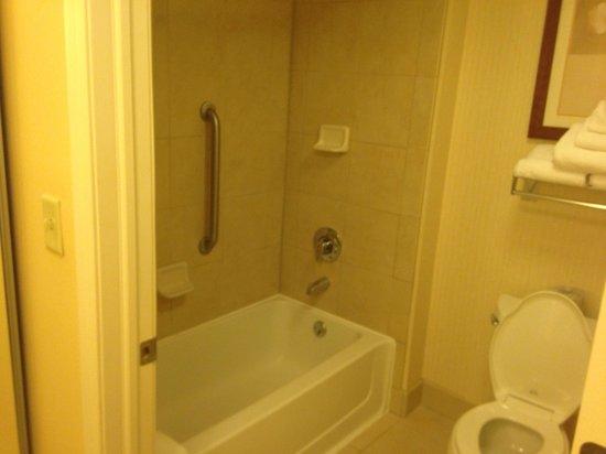 Homewood Suites Omaha Downtown : Bathroom