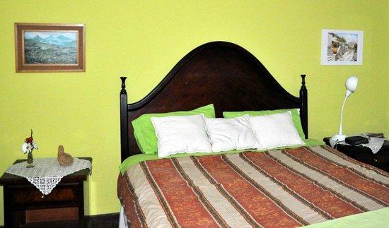 La Casa de la Gringa: Green room