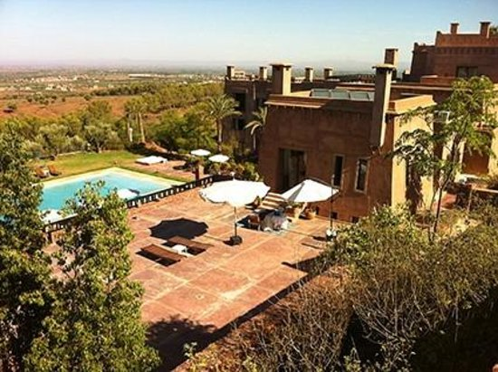 Kasbah Agounsane : Our upgraded room & terrace