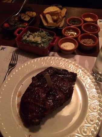 Tango Argentinian Steakhouse: 400g ribeye