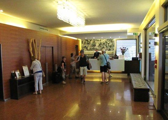 Quality Hotel Delfino Venezia Mestre: Lobby del Hotel