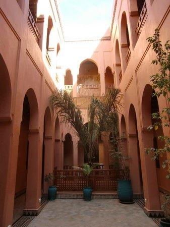 Riad Bahia Salam: La cour intérieure