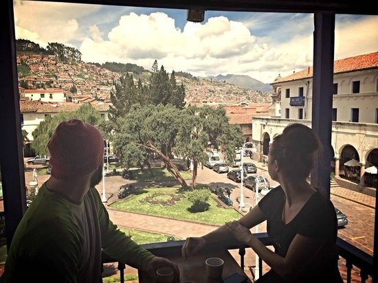 ChocoMuseo: The view of Cusco from the Choco Museo