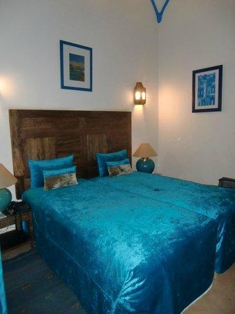 Riad Bahia Salam: Une chambre double