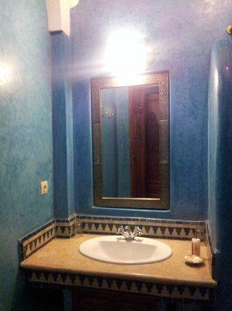 Riad Bahia Salam: Salle de bain