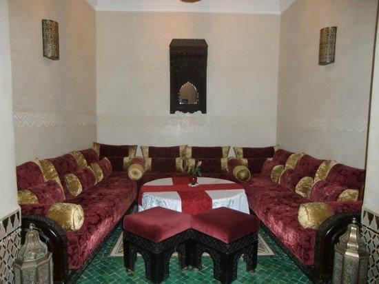 Riad Bahia Salam: Un salon