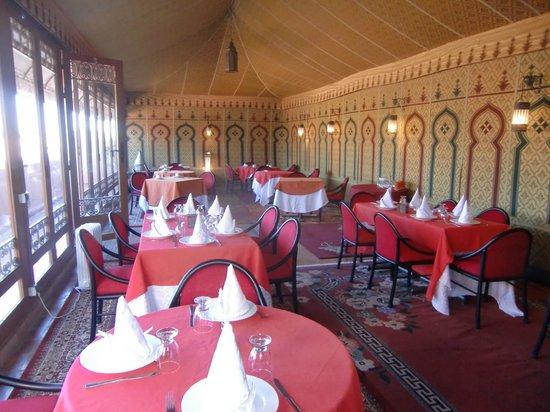 Riad Bahia Salam : La salle à manger