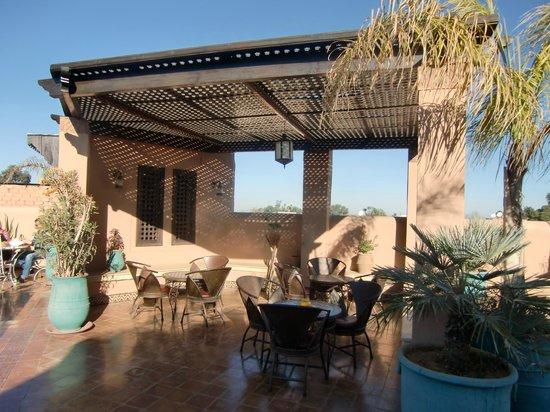 Riad Bahia Salam : La terrasse