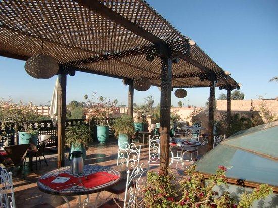 Riad Bahia Salam: La terrasse