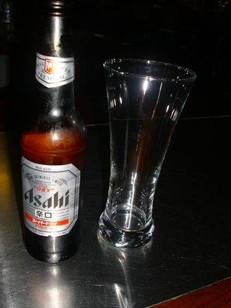 Cafe Sakura: Japanese beer Asahi