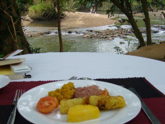 Athgira River Camping: 朝食