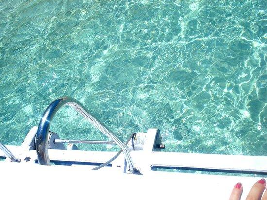 Farol Beach : Agua cristalina!
