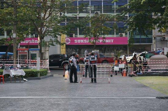 Holiday Inn Express Bangkok Siam: feel safe